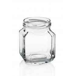 9 Glass jars Quadro Gourmet 580 ml TO 82 mm