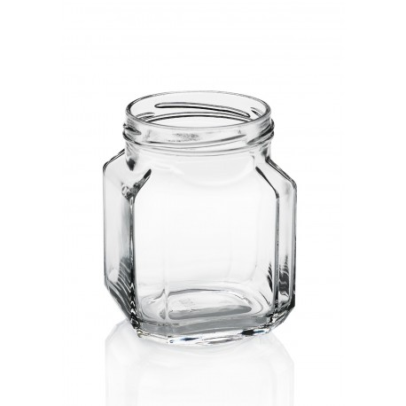 9 bocaux en verre Quadro gourmet 580 ml TO 82 mm