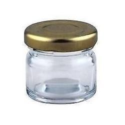 62 bocaux Cilindrico 30 ml TO 43 mm capsules incluses