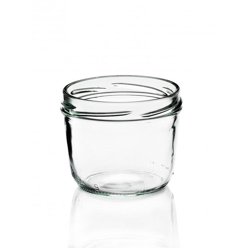 18 bocaux terrines en verre 230 ml capsule incluse to 82 mm. Black Bedroom Furniture Sets. Home Design Ideas