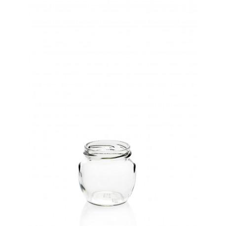 22 Bocaux en verre Orcio 106 ml TO 53 mm
