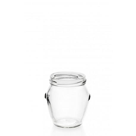 15 Bocaux en verre Orcio 212 ml TO 53 mm