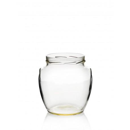 12 Bocaux en verre Orcio 370 ml TO 63 mm
