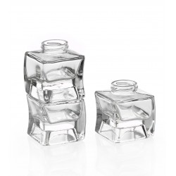 6 glass jars Onda impilablile 314 ml