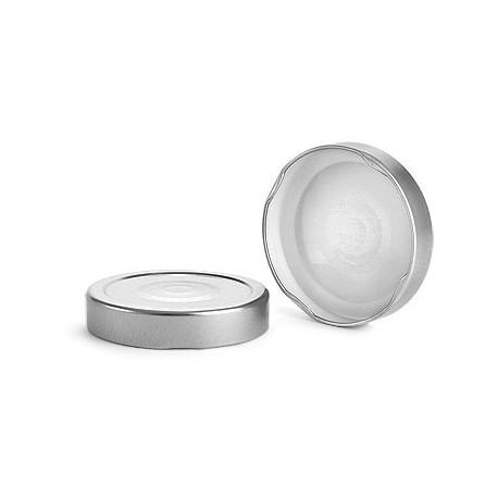 10 capsules DEEP Ø 76 mm Argent