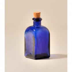 24 Mini flacons Frasco Carrés Bleus 100 ml MIGUEL ANGEL