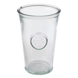 3 bicchieri in vetro 100% recycled