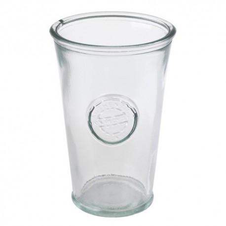 Lot de 3 verres en verre recyclé