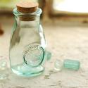 salière + poivrier en verre recyclé 100 ml