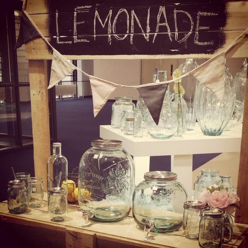 Bonbonne autenthic style mason jar avec robinet 6 l haut for A bon verre bonne table