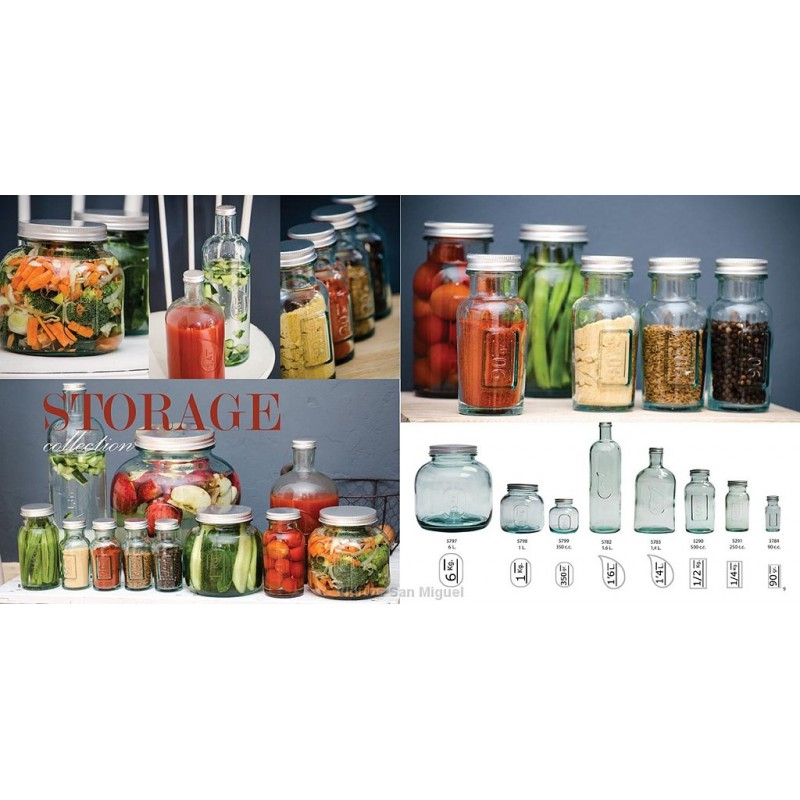 pot gamme storage 250 grammes avec couvercle inox haut 13 5 cm mcm emballages
