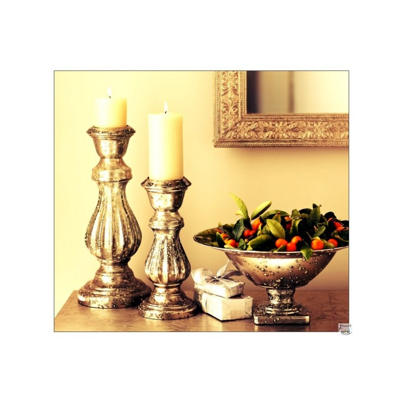 grand cand labre grand bougeoir dor hauteur 40 cm. Black Bedroom Furniture Sets. Home Design Ideas