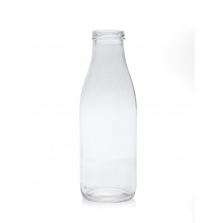 lot de 7 Bouteilles en verre modèle Fraîcheur 750 ml avec capsule à visser