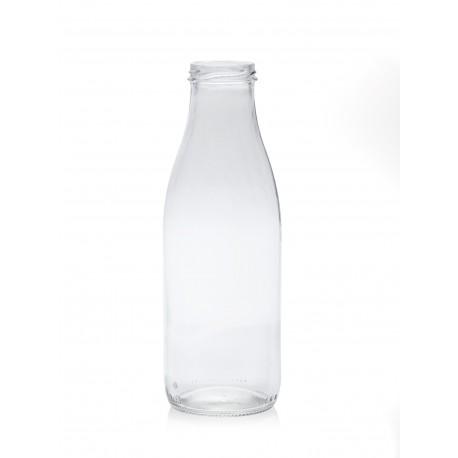 lot de 6 Bouteilles en verre modèle Fraîcheur 750 ml avec capsule à visser