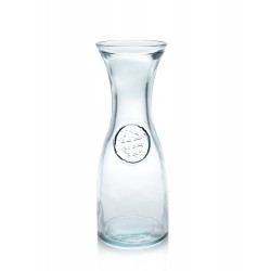 Carafe ou Pichet Authentic en verre 100% recyclé 800 ml, 25 cm