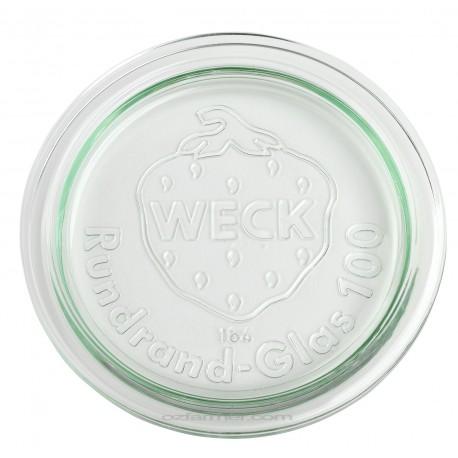 6 Couvercles en verre Weck diamètre 100 mm