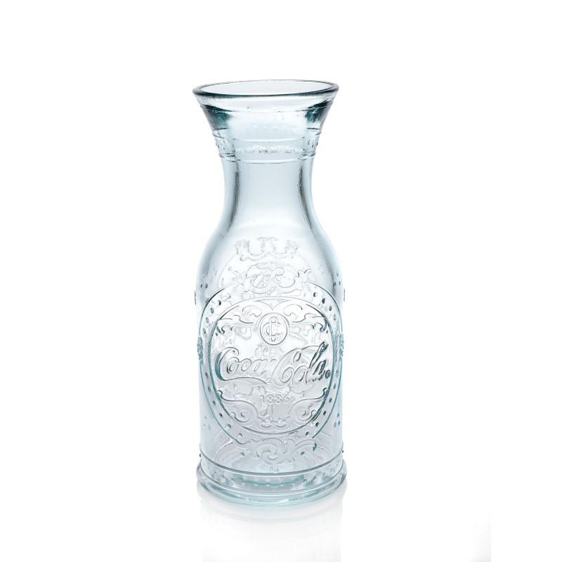 bouteille carafe botella coca cola 1 litre haut 25 5 cm. Black Bedroom Furniture Sets. Home Design Ideas