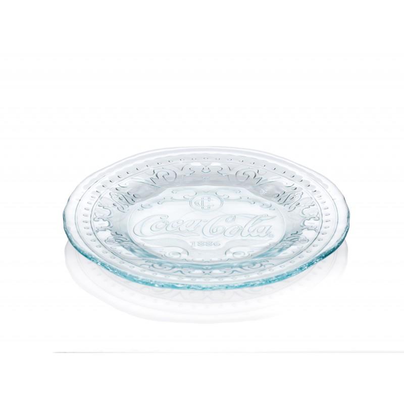 petite assiette plato coca cola 20 cm mcm emballages