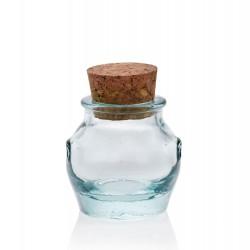 24 Mini bocaux Jarres avec bouchon en liège, 39 ml