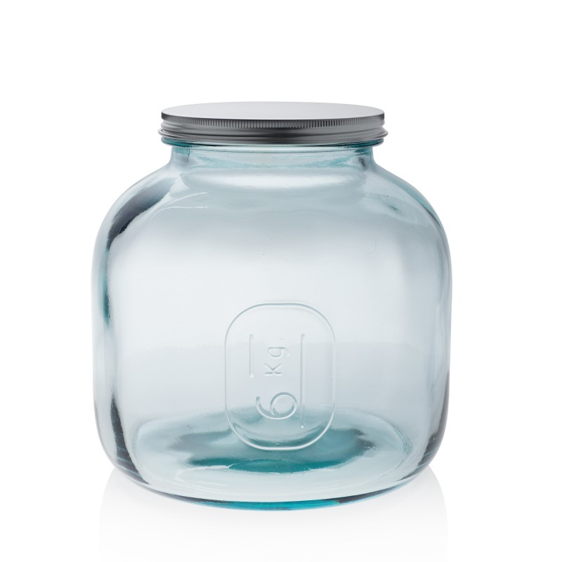 bonbonni re pot gamme storage tarro 6 kg avec couvercle a visser inox haut 24 cm. Black Bedroom Furniture Sets. Home Design Ideas