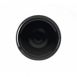 100 Capsules TO 70 mm noires stérilisables avec Flip
