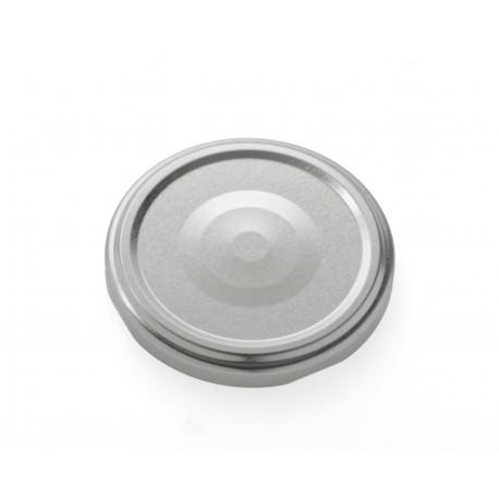100 capsule TO 63 mm argento per la sterilizzazione con Flip