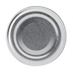 100 capsule TO 70 mm argento per la pasteurizzazione