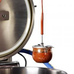 Couvercle percé WECK diamètre 60 mm pour sonde à coeur