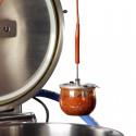Couvercle en métal KORIMAT diamètre 100 mm, pour sonde à coeur