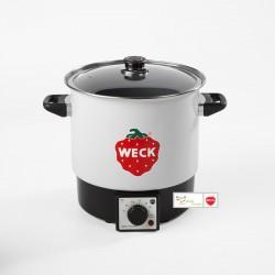 WECK ® Multitopf kleiner Einkochautomat WMT 10 - Emailliert