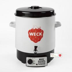 Elektrische sterilisator sparen geëmailleerd van merk WECK, model WAT 14 A, kleur ruw