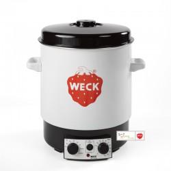 Stérilisateur pasteurisateur domestique Weck® émaillé WAT15 sans robinet