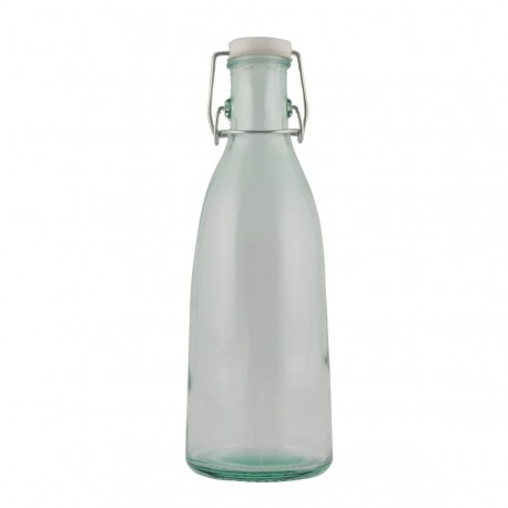 6 bouteilles type bouteille de lait avec bouchon limonade 950 ml
