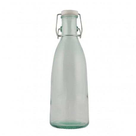 1 bouteille modèle Lait Basic bouteille de lait avec bouchon limonade (capsule mécanique)