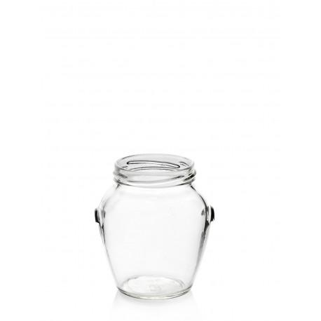 12 Glass jars Orcio 314 ml