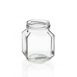 30 vasi di vetro QUADRO GOURMET 106 ml TO 48 mm con capsule incluse.
