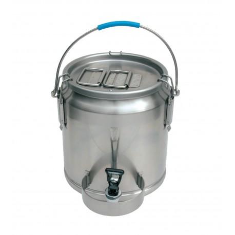 Cantine portable inox avec bec verseur 10 litres