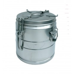 Food container stainless steel without spout 5 liters