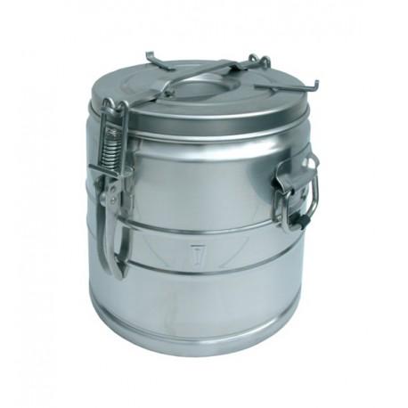 Cantine portable inox sans bec verseur 10 litres