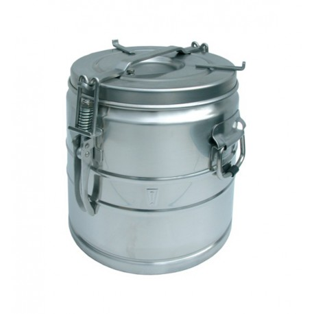 Food container stainless steel without spout 10 liters