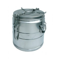 Cantine portable inox sans bec verseur 15 litres