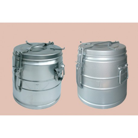 Food container stainless steel without spout 25 liters