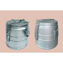 Food container stainless steel without spout 50 liters