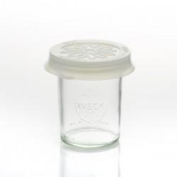 Coiffe silicone Blossom eCAP diamètre 60 Bleue pour bocaux WECK