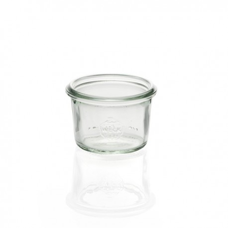 6 glass jars weck Mold shape 50 ml, without lid nor rubber ring (diam. 60 mm)