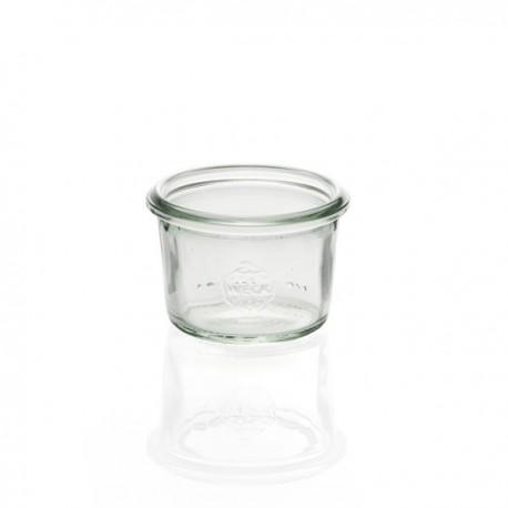 6 bocaux WECK Droits 50 ml, sans couvercle ni joint (diam. 60 mm)