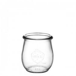 6 vasetti di vetro Weck® Corolle® 220 ml senza coperchio e guarnizione (diam. 60 mm)