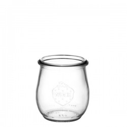 6 weck glass jars Corolle without lid nor rubber ring (diam. 60 mm)