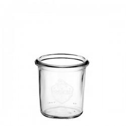 6 Bocaux en verre WECK 140 ml sans couvercle ni joint (diam. 60 mm)