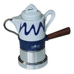 Machine à café italienne TOP MOKA, modèle GOCCIA BLEUE